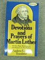 Devotions and Prayers of Martin Luther