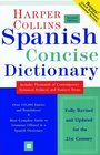 HarperCollins Spanish Concise Dictionary