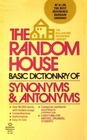 Random House Basic Dictionary Synonyms and Antonyms