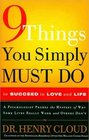 9 things you simple must do