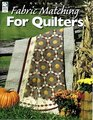 Fabric Matching for Quilters