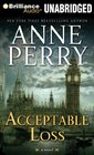 Acceptable Loss (William Monk, Bk 17) (Audio CD-MP3) (Unabridged)