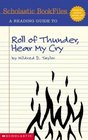 A Reading Guide to 'Roll of Thunder Hear My Cry'