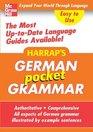Harrap's Pocket German Grammar
