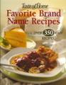 Favorite Brand Name Recipes