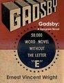 Gadsby: A Lipogram Novel