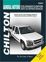 General Motors Colorado/Canyon 2004 through 2006