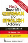 Klett's SuperMini German and English Dictionary