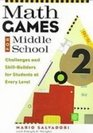 Math Games for Middle School Challenges and Skill-builders for Students at Every Level