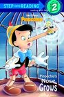 Pinocchio's Nose Grows (Step-Into-Reading, Step 2)