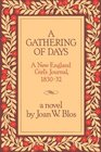 A Gathering of Days: A New England Girl's Journal, 1830-32