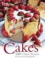 Cakes: 1001 Classic Recipes : 1001 AUTHENTIC RECIPES