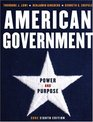 American Government Power and Purpose Core Eighth Edition