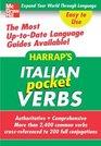 Harrap's Pocket Italian Verbs