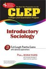 CLEP Introductory Sociology The Best Test Prep for the CLEP Exam