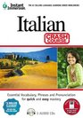 Instant Immersion Italian - Crash Course