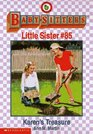 Karen's Treasure (Baby-Sitters Little Sister, Bk 85)