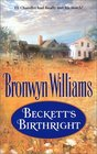 Beckett's Birthright (Beckett's Fourtune) (Harlquin Historical, No 633)