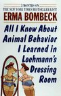 All I Know About Animal Behavior I Learned in Loehman's Dressing Room