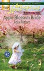 Apple Blossom Bride (Serenity Bay, Bk 2) (Love Inspired, No 389) (Larger Print)