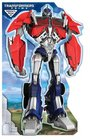 Transformers Prime Optimus Prime Stand Up Mover Standup Mover