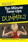 Ten Minute Tone-Ups for Dummies