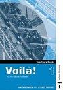 Voila Teacher's Book 1