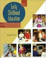 Early Childhood Education Developmental Experiential Learning