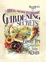1519 AllNatural AllAmazing Gardening Secrets Expert Tips for Gardens and Yards of All Sizes