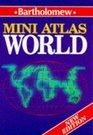 Bartholomew Mini World Atlas