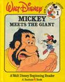 Mickey Meets the Giant (Walt Disney Fun-to-Read Library, Vol 1)