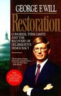 Restoration Congress Term Limits and the Recovery of Deliberative Democracy