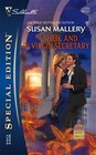 The Sheik and the Virgin Secretary (Desert Rogues, Bk 10) (Silhouette Special Edition, No 1723)
