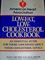 American Heart Association Low-Fat, Low-Cholesterol Cookbook (American Heart Association)