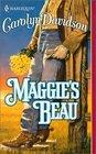 Maggie's Beau (Devereaux, Bk 3) (Harlequin Historical, No 543)
