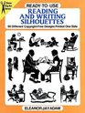 Ready-To-Use Reading and Writing Silhouettes: 95 Different Copyright-Free Designs Printed One Side (Dover Clip-Art Series)