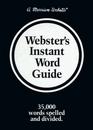 Webster's Instant Word Guide