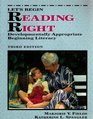 Let's Begin Reading Right Developmentally Appropriate Beginning Literacy