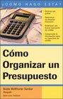 Cmo Organizar un Presupuesto How to Make a Budget