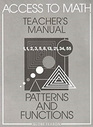 Access to Math: Patterns and Functions (Teacher's Manual)