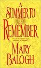 A Summer To Remember (Bedwyn, Bk 2)