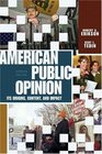 American Public Opinion  Its Origin Contents and Impact