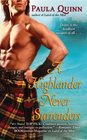 A Highlander Never Surrenders  (MacGregors, Bk 2)