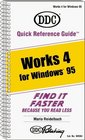 Quick Reference Guide: Work 4 for Windows 95