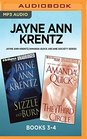 Jayne Ann Krentz/Amanda Quick Arcane Society Series Books 3-4 Sizzle and Burn  The Third Circle