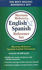 Merriam-Webster's English  Spanish Reference Set Newest Edition