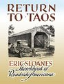 Return to Taos Eric Sloane's Sketchbook of Roadside Americana