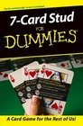 7-Card Stud for Dummies