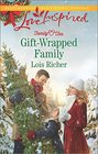 Gift-Wrapped Family (Family Ties, Bk 3) (Love Inspired, No 963)