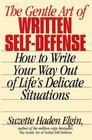 The Gentle Art of Written Self-Defense